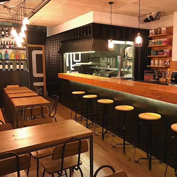 Diseño restaurante Zinkers