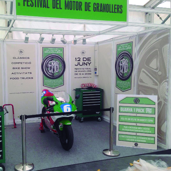 Decoración Stand FMG