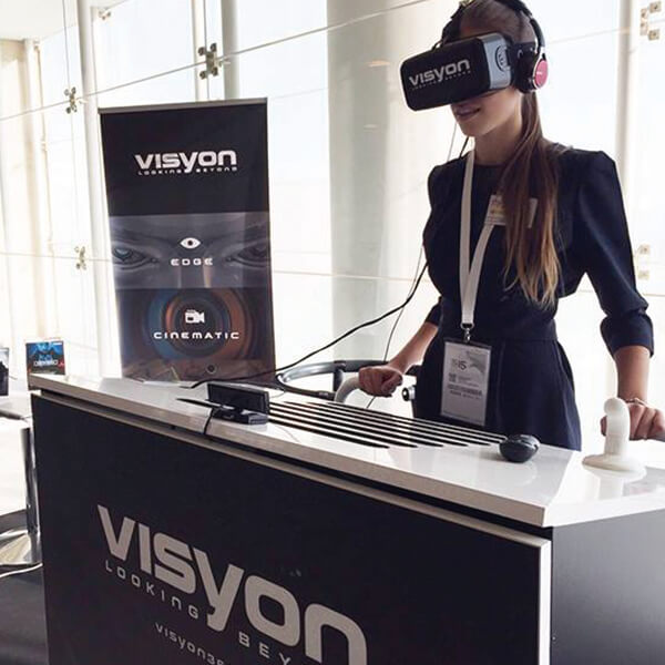 Plataforma VR Visyon Zinkers