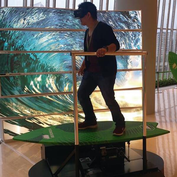 Diseño y construcción simulador surf VR