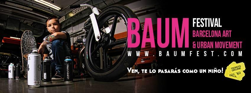 Nos vamos al Baum Festival 2016