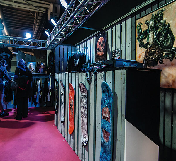 Stand Iron Fist Barcelona Tattoo Expo