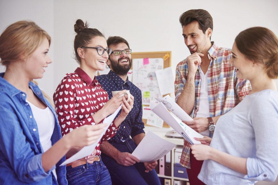 Beneficios de crear un buen ambiente de trabajo